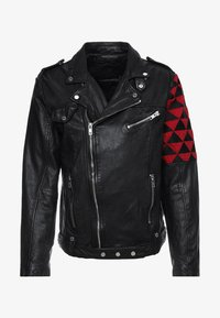 Be Edgy - BEWARD - Lederjacke - black - 5