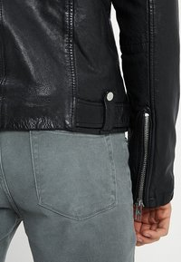 Be Edgy - BEWARD - Lederjacke - black - 6