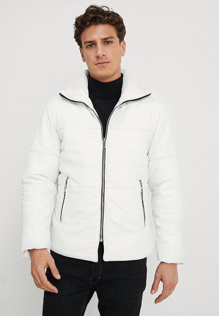 Be Edgy - BEDEMIR - Veste en cuir - white