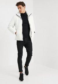 Be Edgy - BEDEMIR - Veste en cuir - white - 1