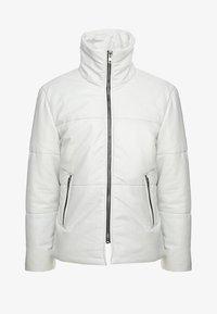 Be Edgy - BEDEMIR - Veste en cuir - white - 5