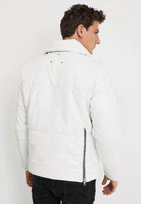 Be Edgy - BEDEMIR - Veste en cuir - white - 2