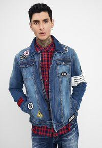 Be Edgy - DUSTY  - Veste en jean - blue denim - 2