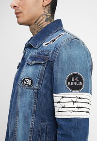 Be Edgy - DUSTY  - Veste en jean - blue denim - 5