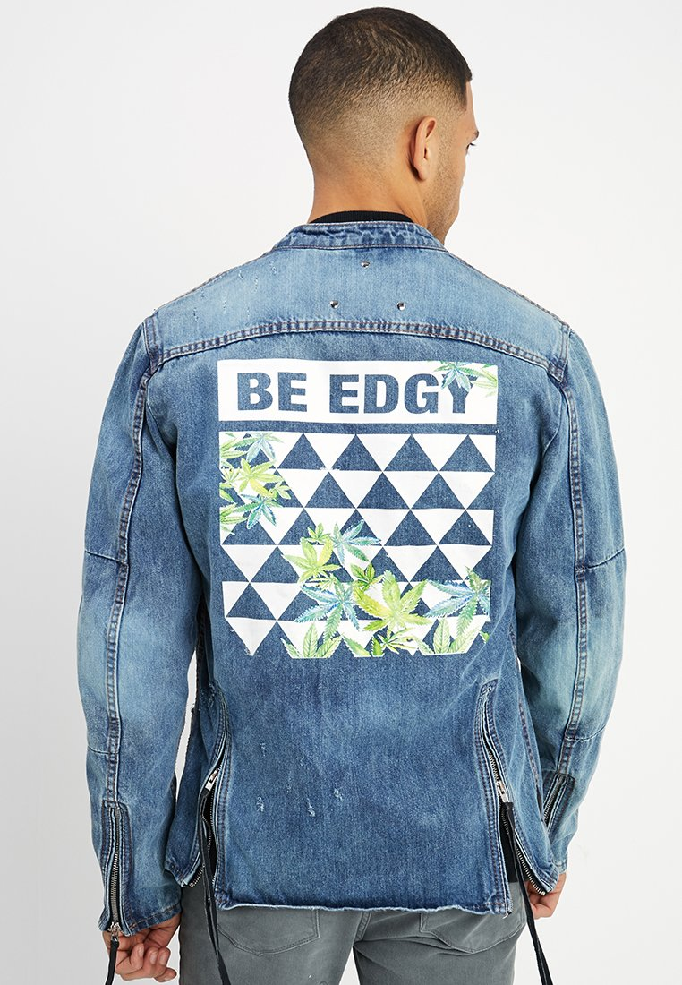 Be Edgy - BEPRISM - Denim jacket - indigo mid