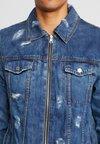 Be Edgy - BENATE - Kurtka jeansowa - blue