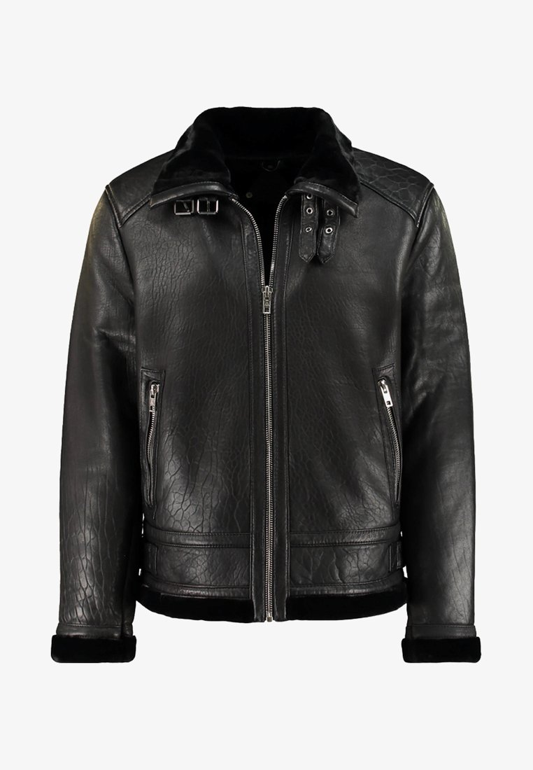 Be Edgy - BEANDREW - Leather jacket - black