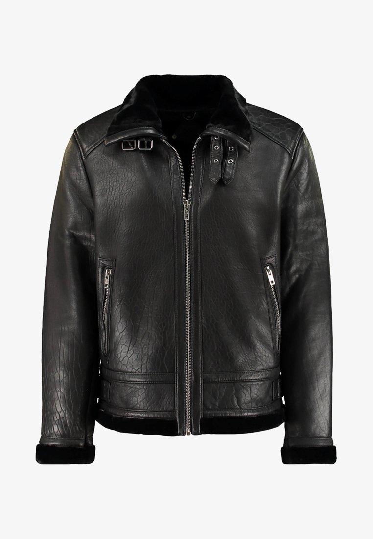 Be Edgy - BEANDREW - Leather jacket - black