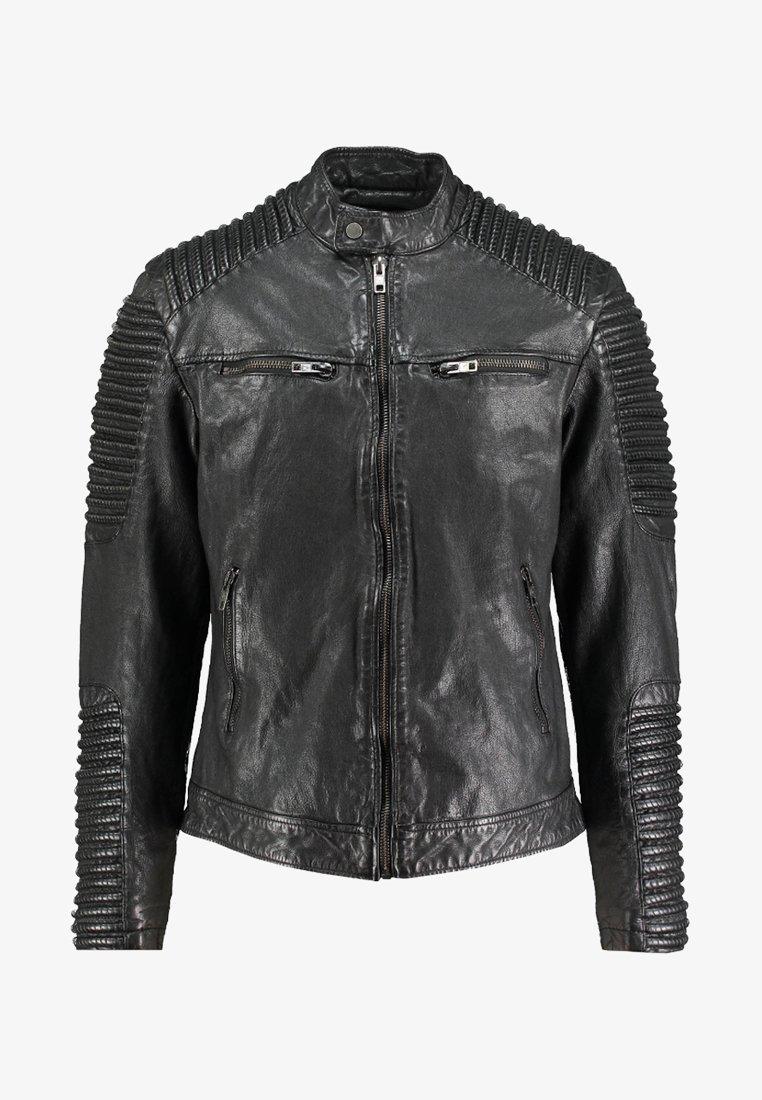 Be Edgy - BEBAKER - Leather jacket - black