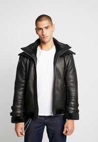 Be Edgy - BECARL - Leather jacket - black - 0