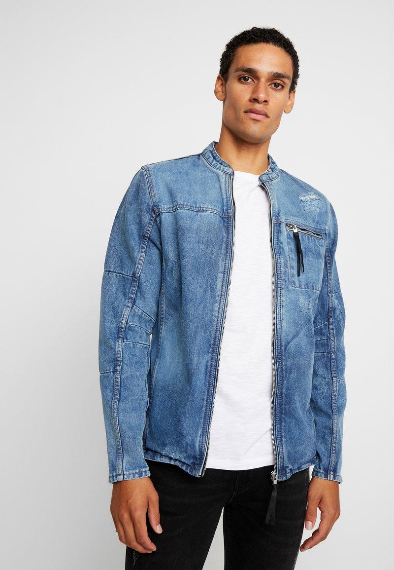 Be Edgy - BETRAVER - Denim jacket - indigo mid
