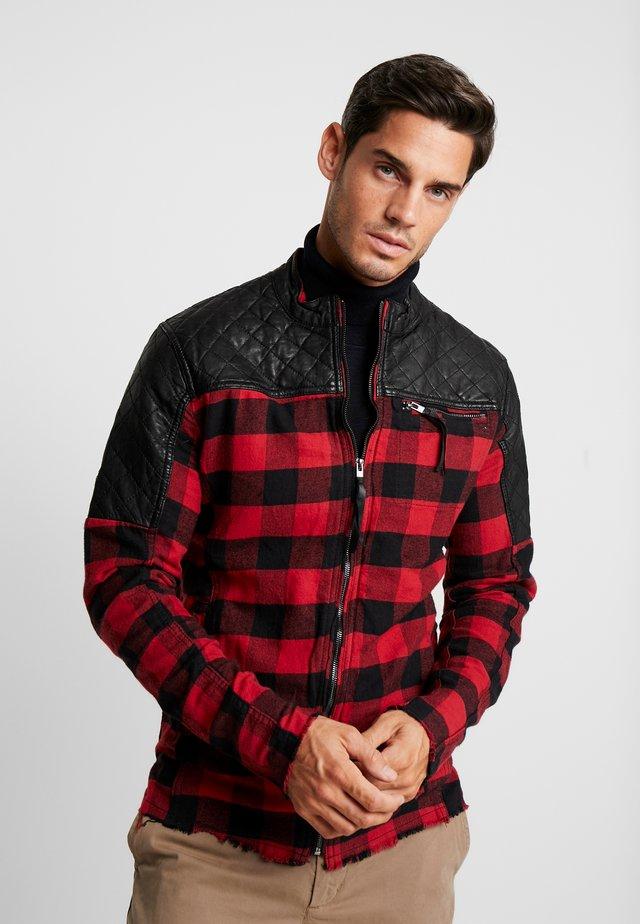 BEJAMAL - Leichte Jacke - black/red