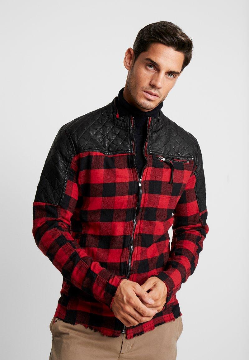 Be Edgy - BEJAMAL - Leichte Jacke - black/red