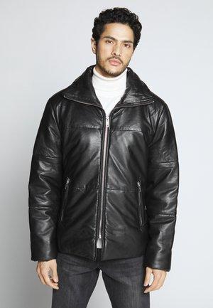 EXIT - Leather jacket - black
