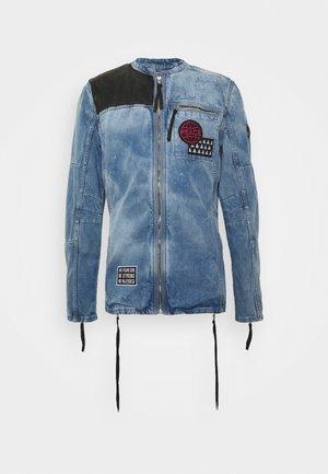 PHIL - Kurtka jeansowa - mid indigo