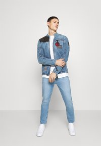 Be Edgy - PHIL - Kurtka jeansowa - mid indigo - 1