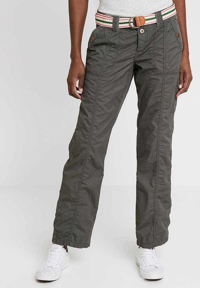 edc by Esprit - PLAY PANTS - Trousers - khaki green