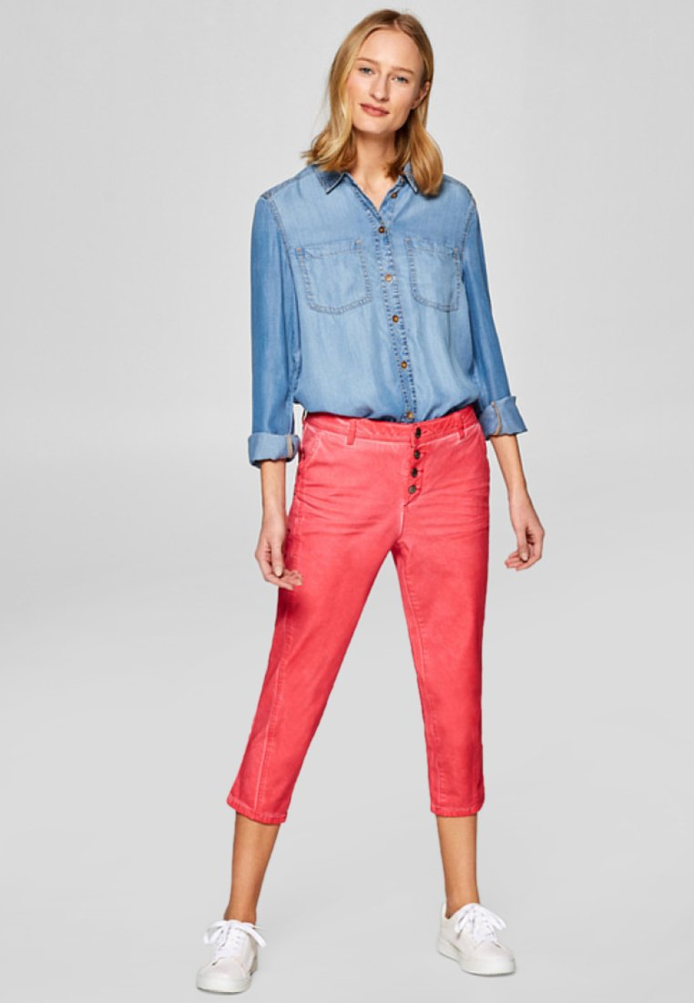 edc by Esprit - Trousers - pink fuchsia