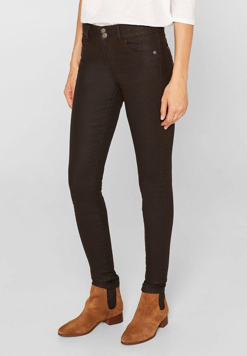 edc by Esprit - Jeans Skinny Fit - dark brown