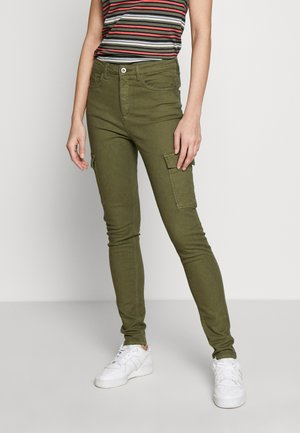 UTILITY - Trousers - khaki green