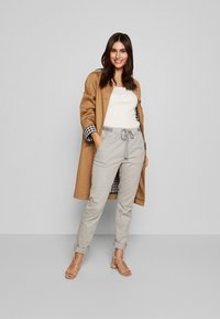 edc by Esprit - Trousers - light grey - 1