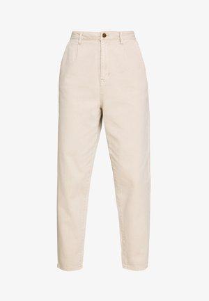 BARREL LEG UTIL - Pantaloni - sand