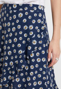 edc by Esprit - RUFFLE WRAP - A-snit nederdel/ A-formede nederdele - navy - 4