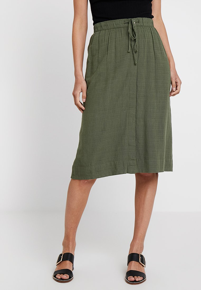 edc by Esprit - A-line skirt - forest