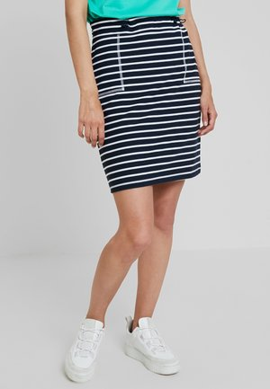 BEACH SKIRT - Spódnica mini - navy