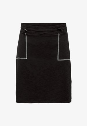 SKIRT SOLID - Minikjol - black