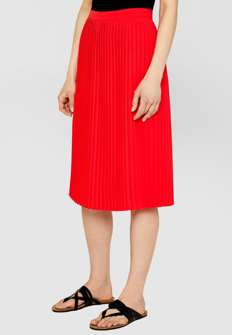 edc by Esprit - A-line skirt - coral red