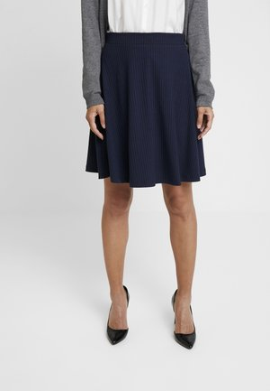 SOLID - A-line skirt - navy