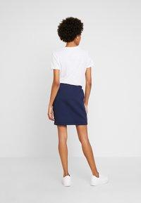 edc by Esprit - TAPE SKIRT - Mini skirts  - navy - 2