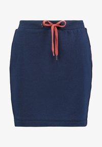 edc by Esprit - TAPE SKIRT - Mini skirts  - navy - 4