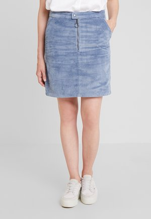 SKIRT - A-line skjørt - grey blue