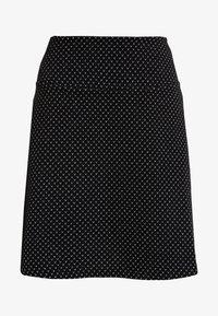 edc by Esprit - FLARED SKIRT - Minirok - black - 3