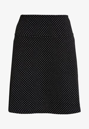 FLARED SKIRT - Minijupe - black