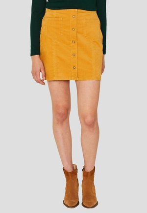 Jupe trapèze - honey yellow