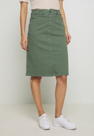 A-Linien-Rock - khaki green
