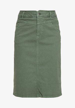 Jupe trapèze - khaki green