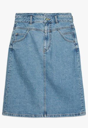 ALINE SKIRT - A-line skirt - blue medium wash