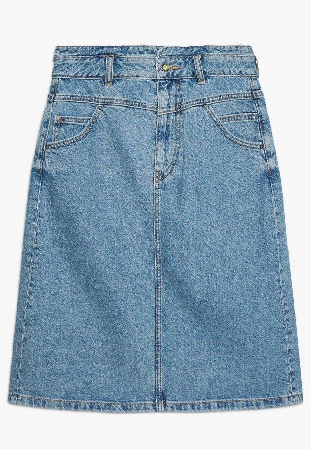 ALINE SKIRT - A-lijn rok - blue medium wash