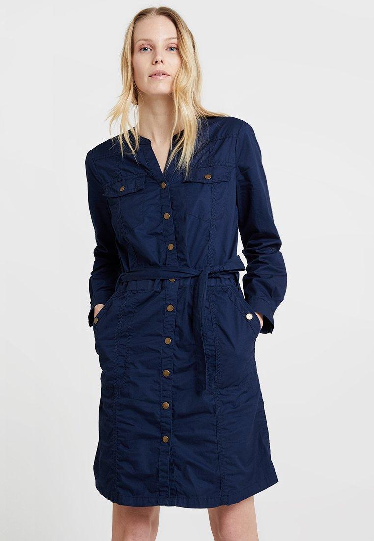 edc by Esprit - DRESS - Skjortekjole - navy