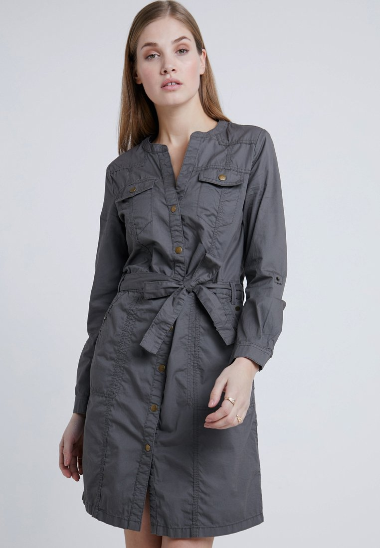 edc by Esprit - DRESS - Shirt dress - khaki