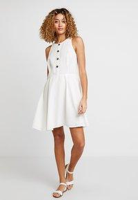 edc by Esprit - Blusenkleid - off white - 2