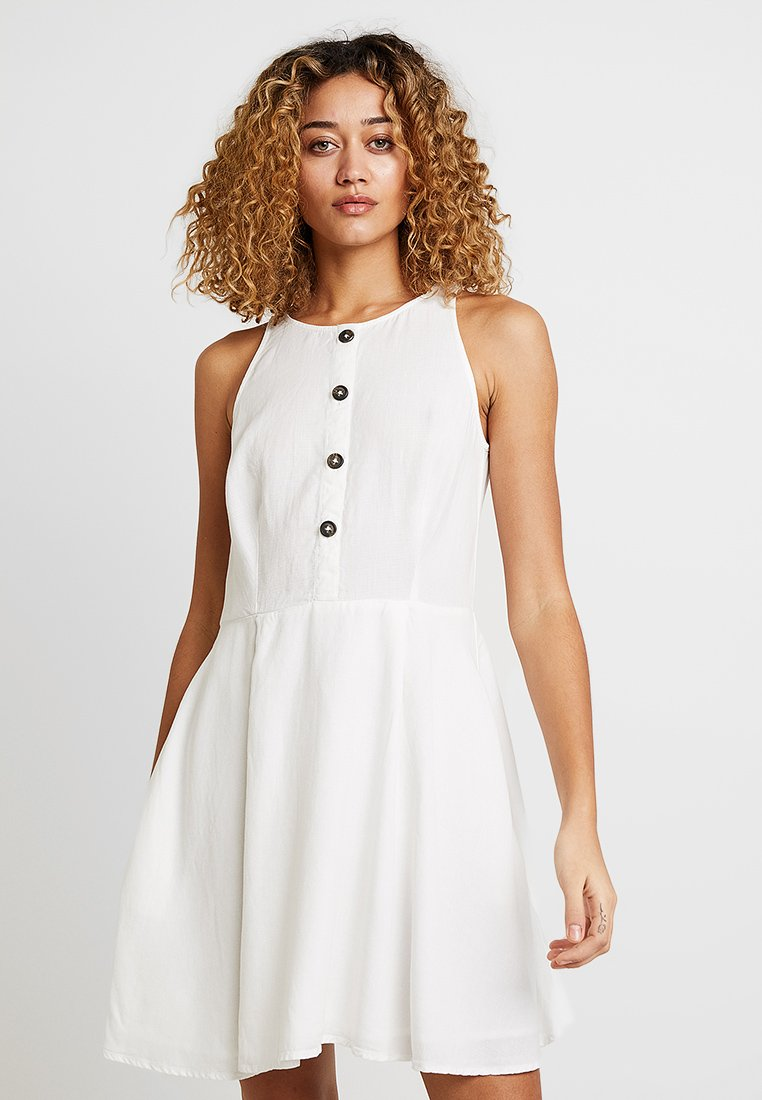 edc by Esprit - Blusenkleid - off white