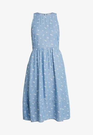 DRESS KNOT - Farkkumekko - blue light wash