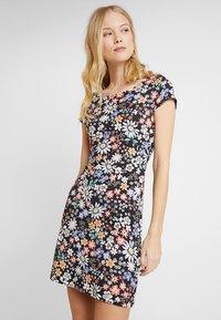 edc by Esprit - BACKDETAIL  - Jersey dress - navy - 0