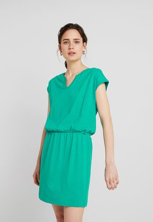 Jerseykleid - emerald green
