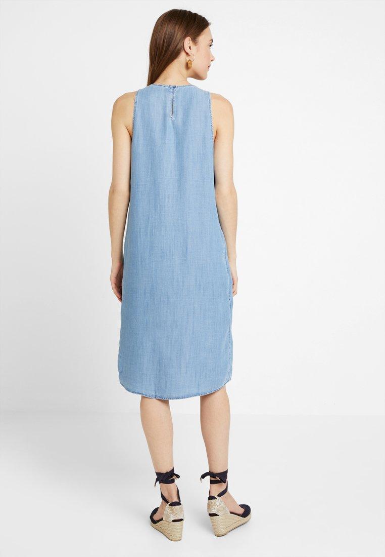 Blue Edc Wash DressRobe Light D'été By Esprit Pintuck PiTOuwkXZ